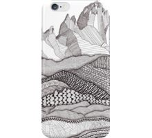 Patterns on Patagonia iPhone Case/Skin