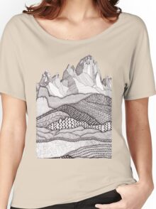 Patterns on Patagonia Women's Relaxed Fit T-Shirt