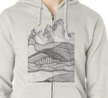Patterns on Patagonia Zipped Hoodie