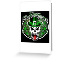 Leprechaun Skull 2.1: Shenanigans Greeting Card