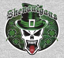 Leprechaun Skull 2.1: Shenanigans One Piece - Long Sleeve