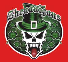 Leprechaun Skull 2.1: Shenanigans Baby Tee