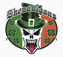 Leprechaun Skull 2.1: Shenanigans One Piece - Short Sleeve