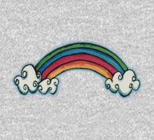 Little Rainbow TShirt Kids Clothes