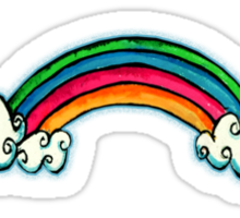 Little Rainbow TShirt Sticker