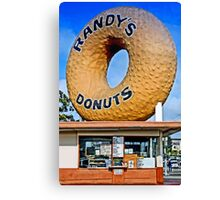Have A Donut Canvas Print