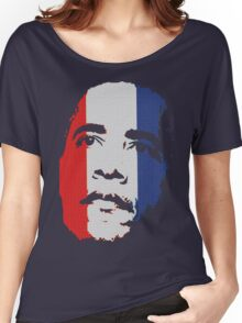 Obama Face Red White and Blue Women's Relaxed Fit T-Shirt