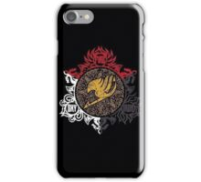 Fairy Tail Dragon Slayers logo iPhone Case/Skin