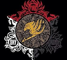 Fairy Tail Dragon Slayers logo by Fapthesystem