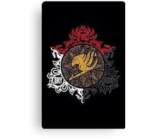 Fairy Tail Dragon Slayers logo Canvas Print