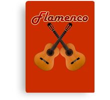 Spanish Flamenco Guitars Canvas Print