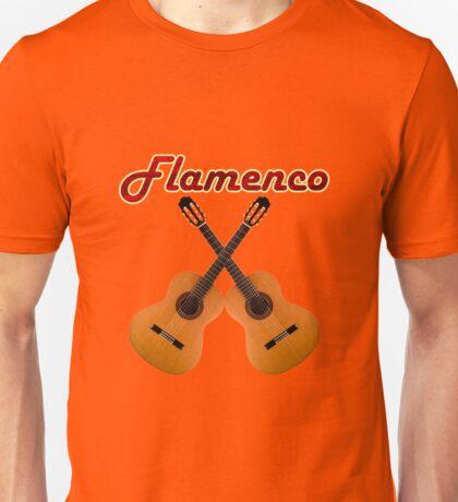 Spanish Flamenco Guitars Unisex T-Shirt