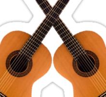 Spanish Flamenco Guitars Sticker