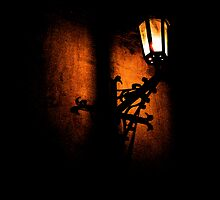 Lantern, its light and shadow by Lenka