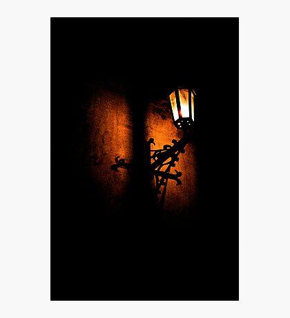 Lantern, its light and shadow Photographic Print