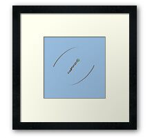 11's sonic screwdriver Framed Print
