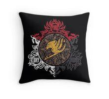 Fairy Tail Dragon Slayers logo Throw Pillow