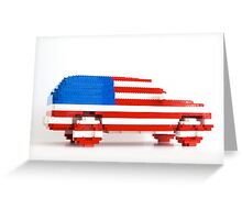 American SUV Greeting Card