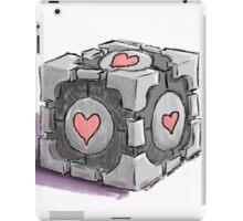 Companion Cube iPad Case/Skin