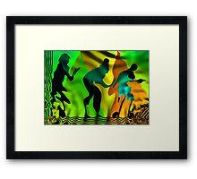 Transforming Framed Print