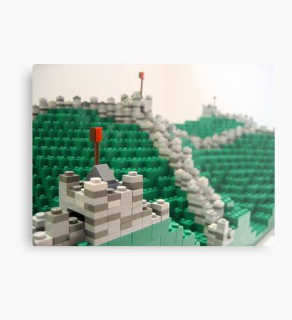 Great Wall of China Metal Print