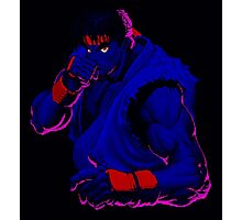 Street Fighter II Intro Photographic Print