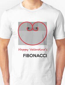 Happy Valentine´s Fibonacci Unisex T-Shirt