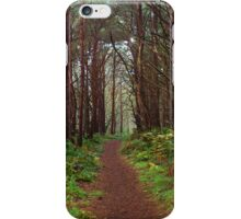 Magical Scottish forest  iPhone Case/Skin