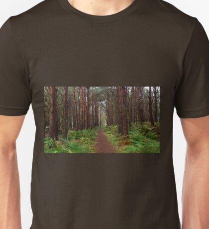 Magical Scottish forest  Unisex T-Shirt
