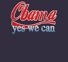 Obama Yes We Can Red White and Blue Unisex T-Shirt