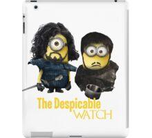 Jon Snow and Sam Tarly Minions  iPad Case/Skin