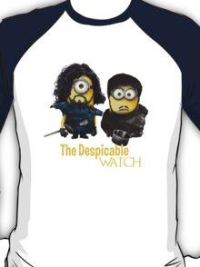 Jon Snow and Sam Tarly Minions  T-Shirt