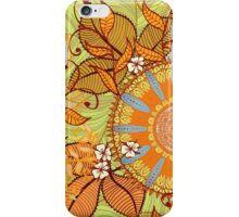 Autumn herbs iPhone Case/Skin