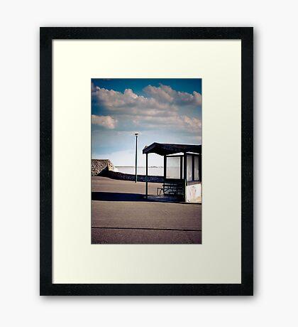Weston Super Mare Pier Grand Pier Seaside British Framed Print