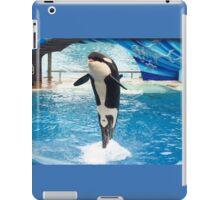 Leaping Orca iPad Case/Skin