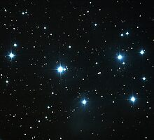 The Pleiades by Sylvain Girard