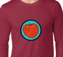 TOMATO RED Long Sleeve T-Shirt