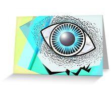 Love Eye Greeting Card