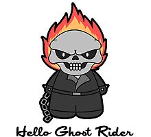 Hello Ghost Rider by CoyoDesign