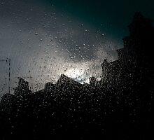 Rain over Rooftops by EricHands