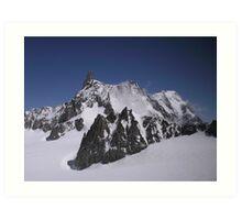 Mountain Scape Art Print