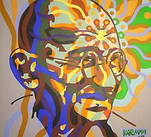 gandhi - 2008 by karmym
