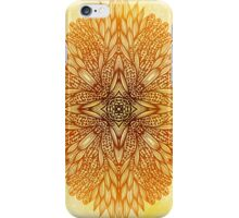 Golden mandala iPhone Case/Skin