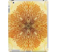Golden mandala iPad Case/Skin