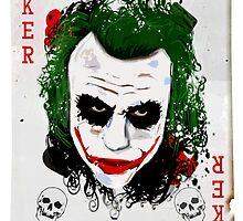 The Joker Card by Michael Barrett