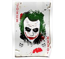 The Joker Card Poster
