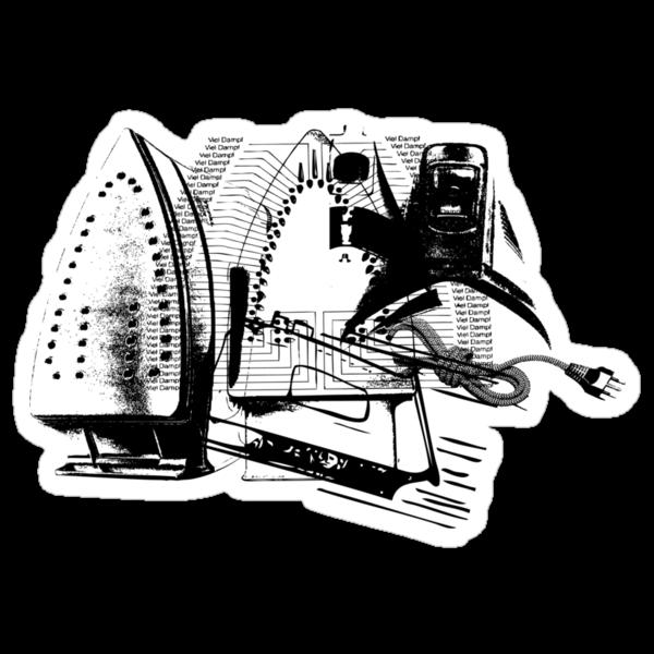 ELECTRIC IRON GRAPHIC  by SofiaYoushi