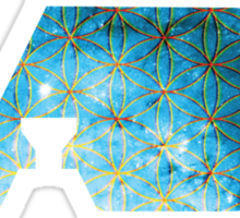 Flower of Life | DABS SPACED VERSION | WAX BUDDER EARL HASH OIL DABS Sticker
