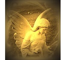 Angel Voices Say Photographic Print