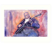 Jazz B B King 03 Art Print